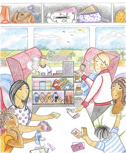 A Great Day Out by Helen Orme. Page 11 of Ransom Reading Stars. Commissioned by Stephan Rickard, Ransom Publishing Ltd