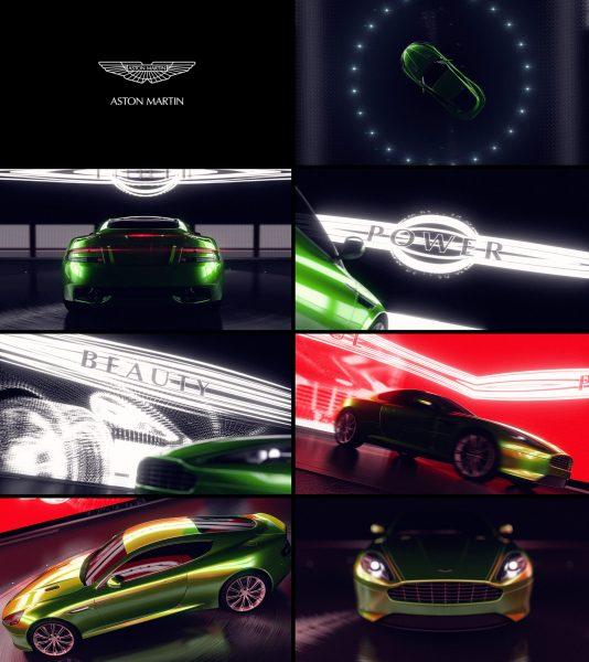 Aston Martin 3D Motion Stills