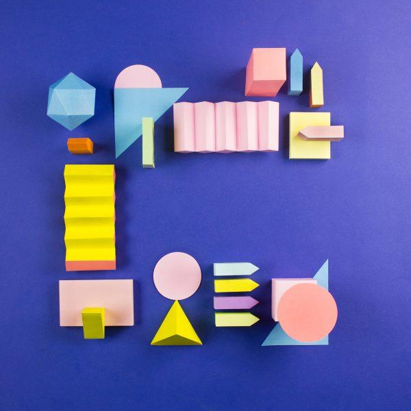 Colorful Papercraft Alphabet