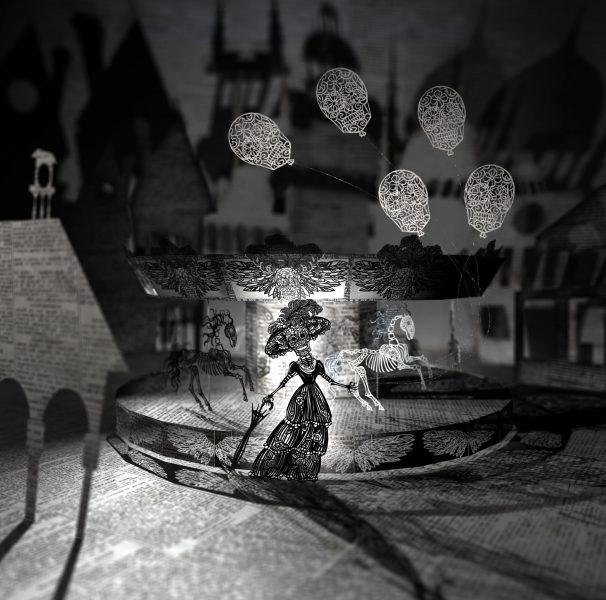Creepy Fairground Diorama