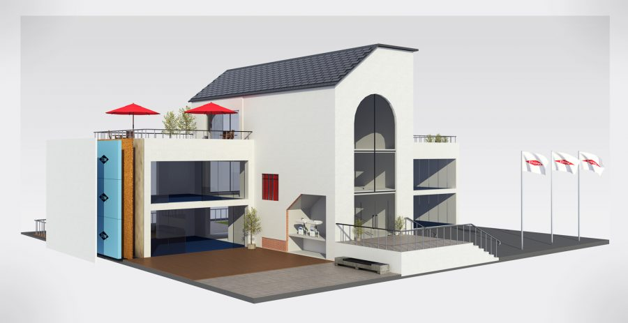 DOW Building Building Products 3D