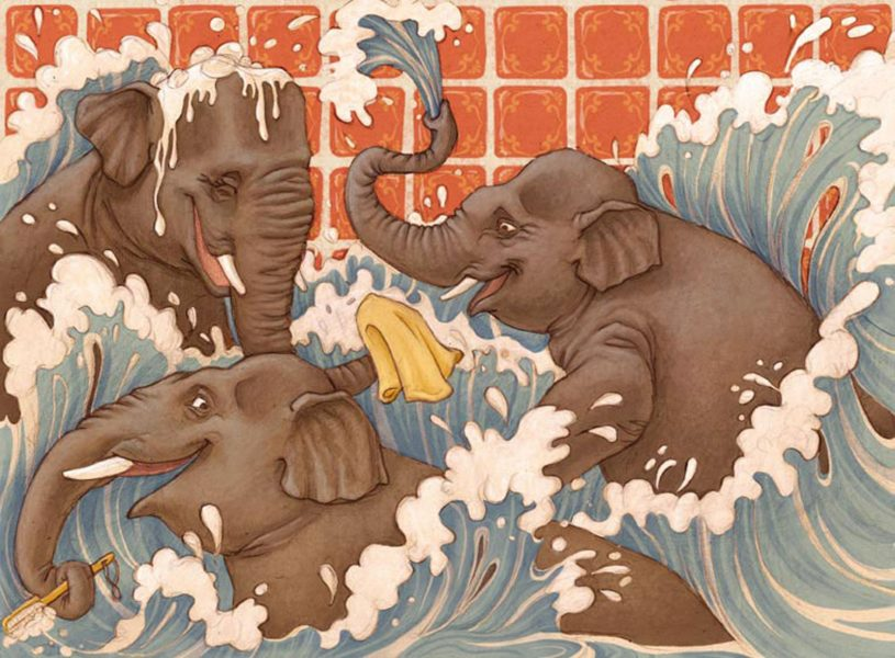Elephants Laura Dollie