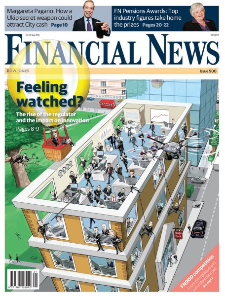 Financial News Front Cover
