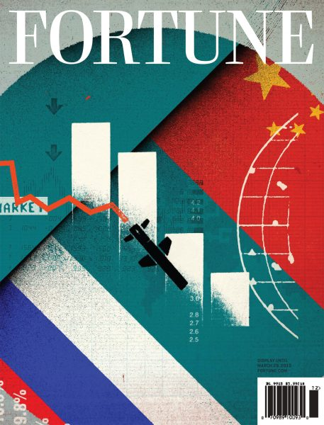 Fortune Cover: Cold War on Business