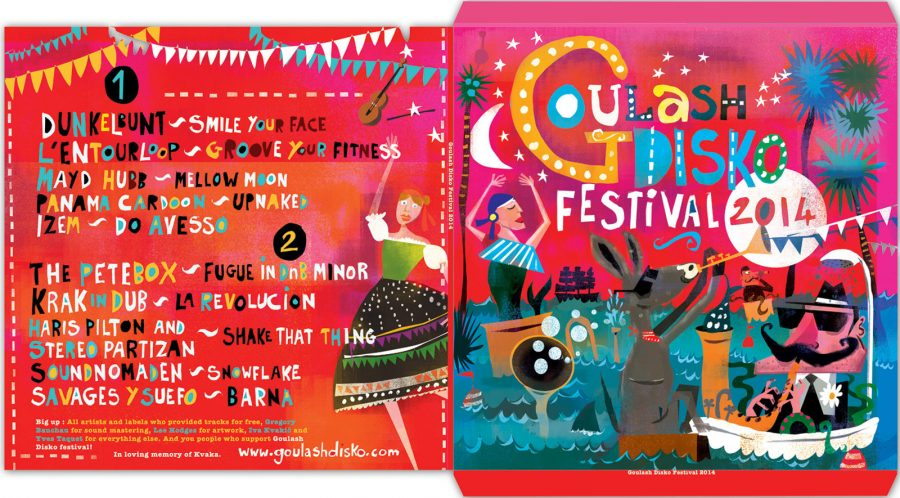 Goulash Disko festival album  Lee Hodges