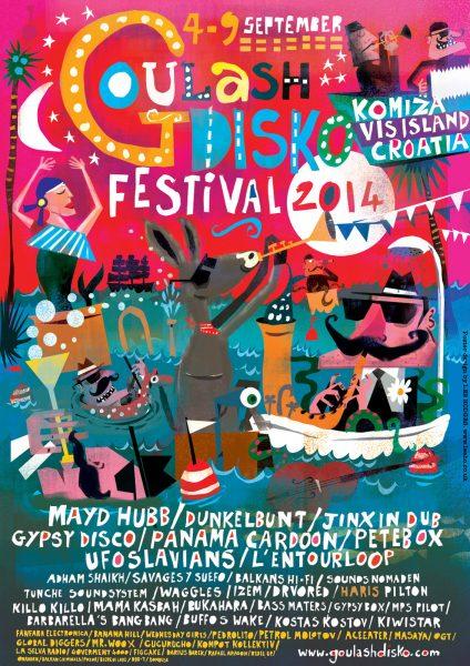Goulash Disko festival Lee Hodges