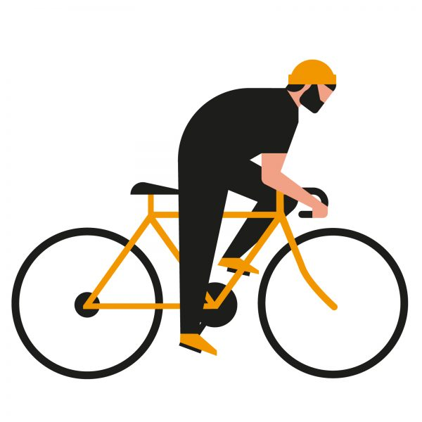 hipster cyclist