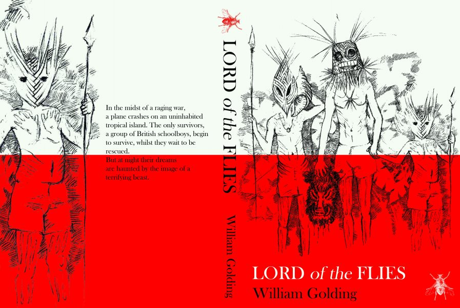 Book cover design: Lord of the Flies