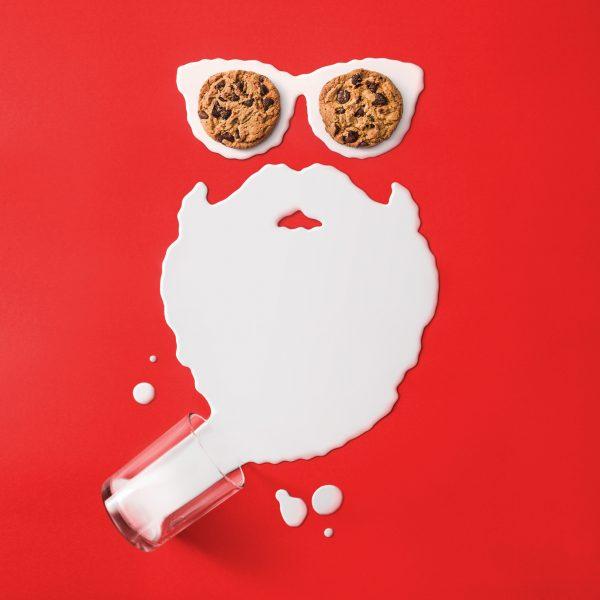 Milk and Cookies / Woolworths Social Media post
