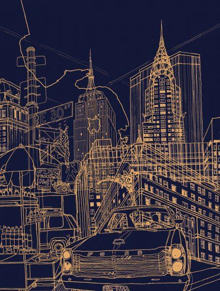 New York (Night)