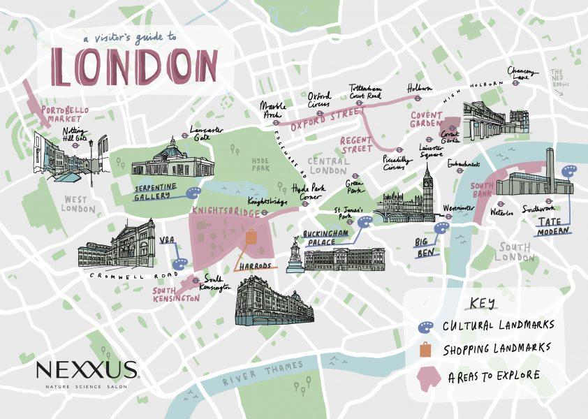 Nexxus/Unilever Maps