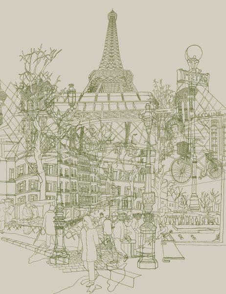 Paris (Grey)