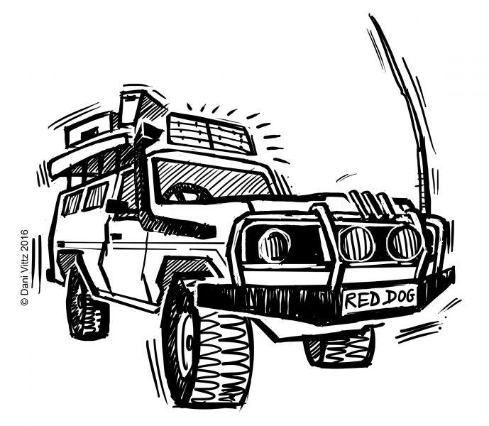 4WD Stubbie Holder