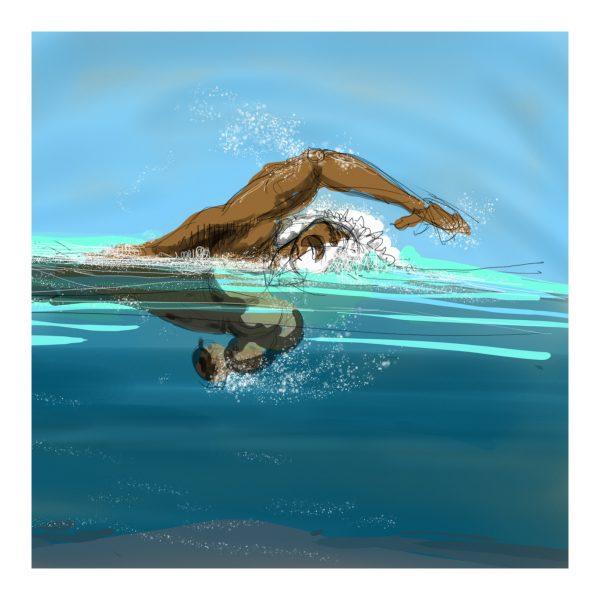 A good swim.