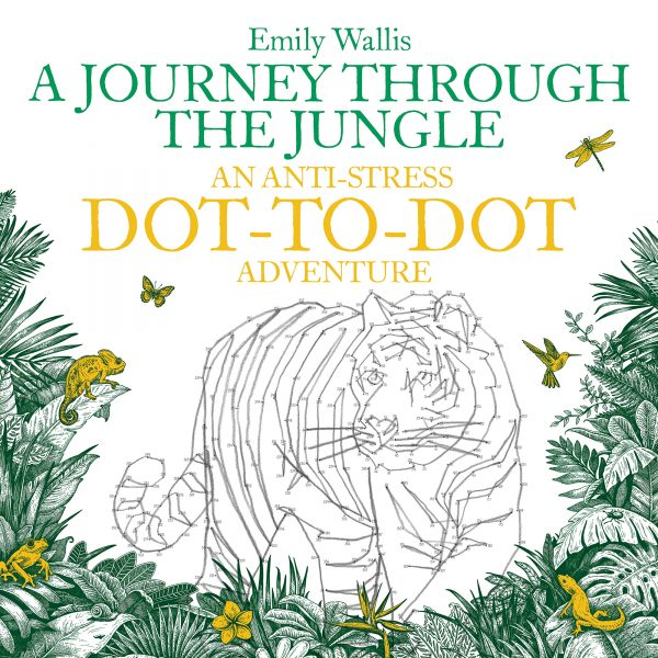 A Journey Through The Jungle - An Anti-Stress Dot-to-Dot Adventure