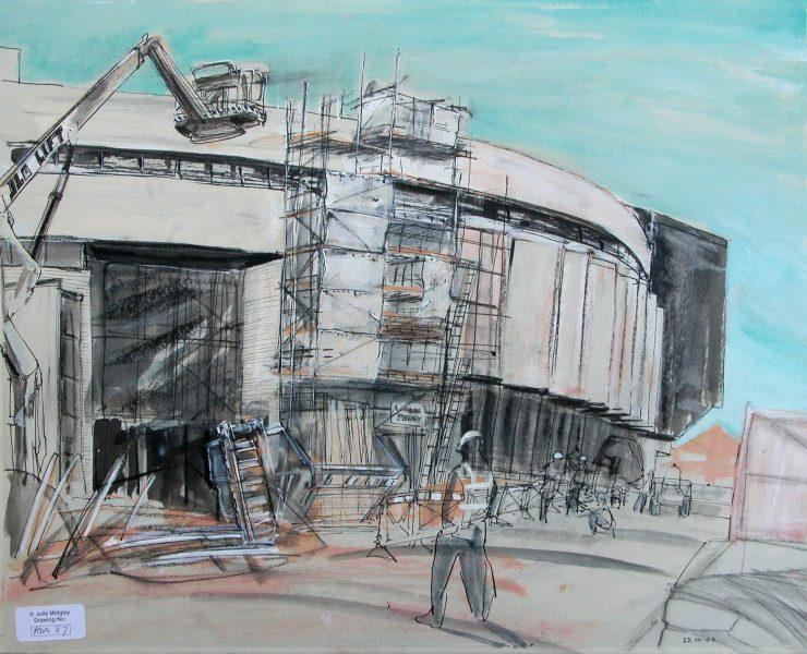 construction site new art school adano.78