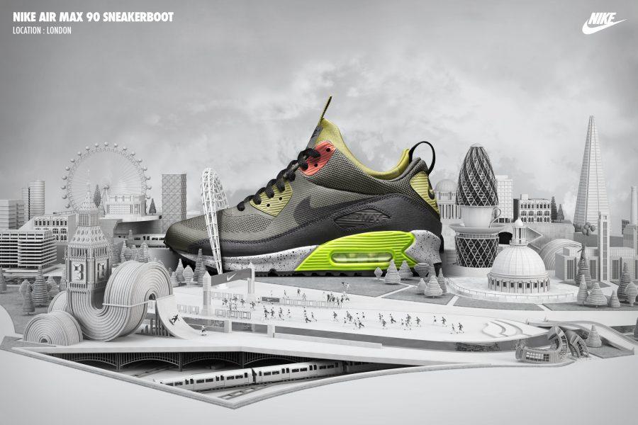 Air Max Sneakerboot
