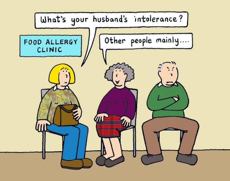 Allergy clinic.