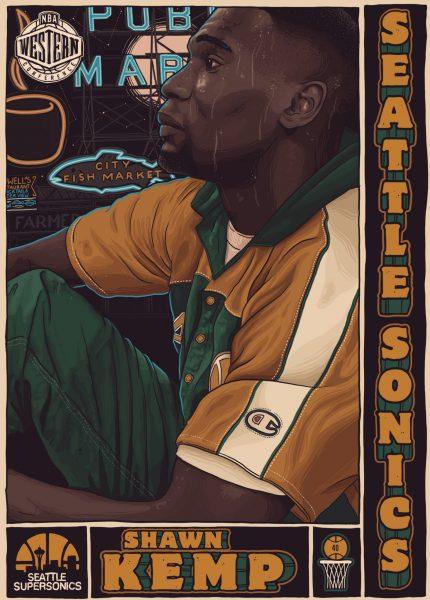 Allstar Basketball Kemp