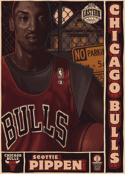 Allstar Basketball Pippen