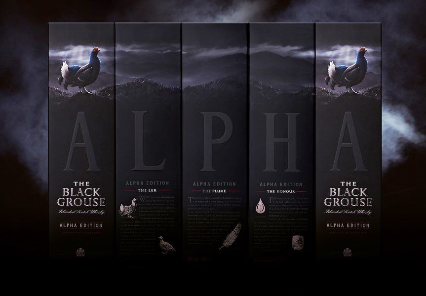 Alpha Grouse Packaging