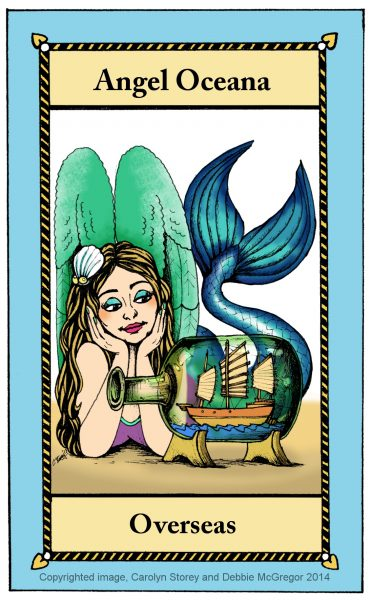 Angel Oceana, private commission, 2014