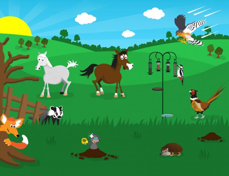 Animal scene