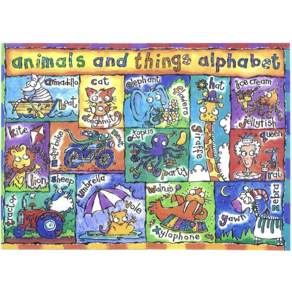 animals and things alphabet
