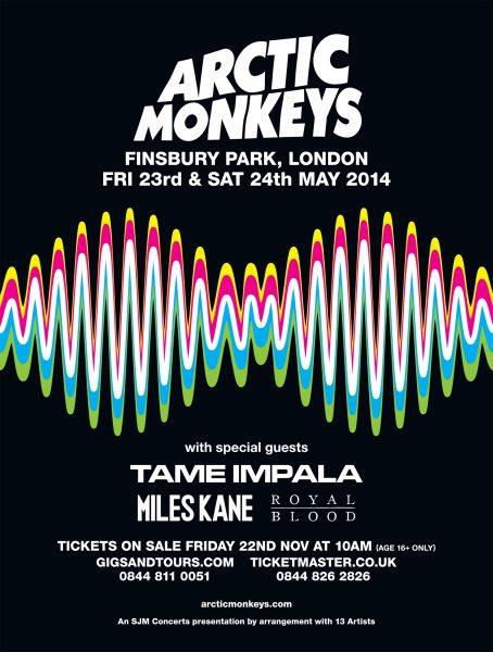Arctic Monkeys / Finsbury Park 2014