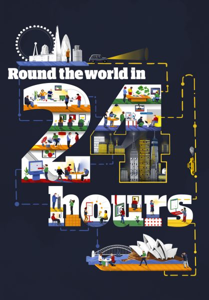 Around The World In 24 Hours
