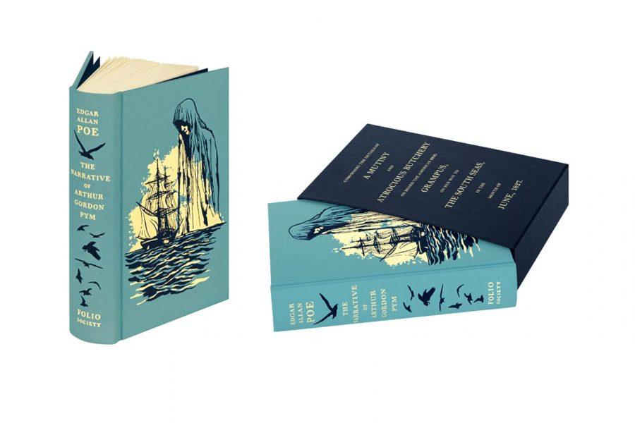 The Narrative of Arthur Gordon Pym cover design