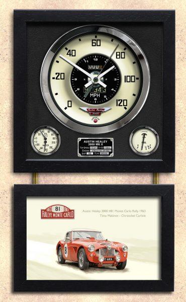 Austin Healy 3000 MK II Clock
