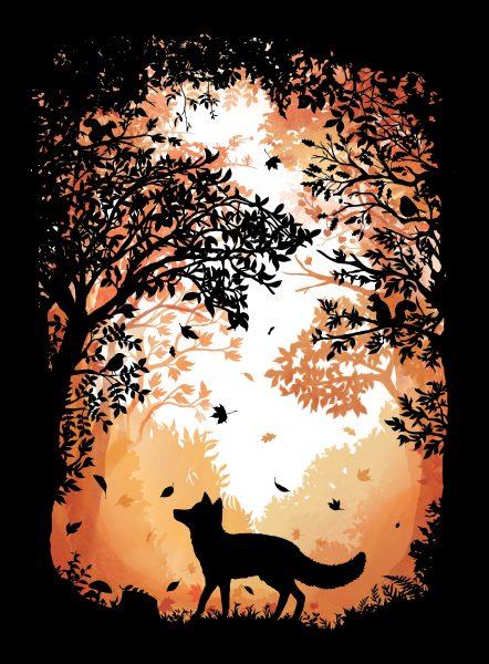 Autumnal Fox