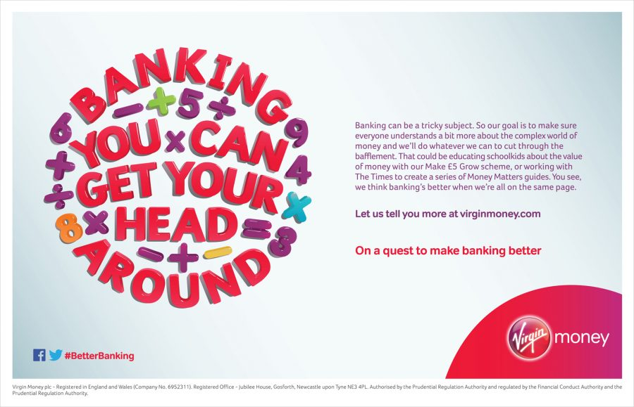 Banking You Can Get Your Head Around / Virgin Money
