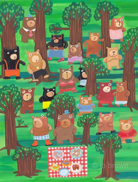 Bears In The Wood