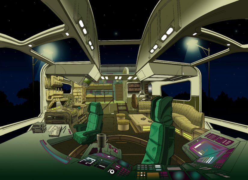 Big Truck Interior
