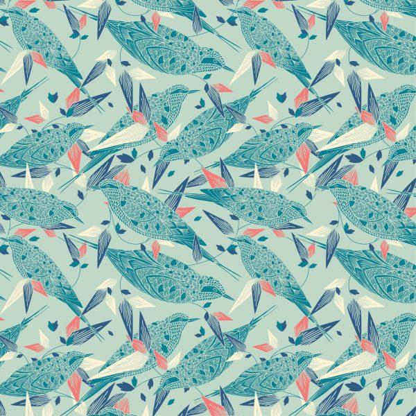 Birds in Bushes