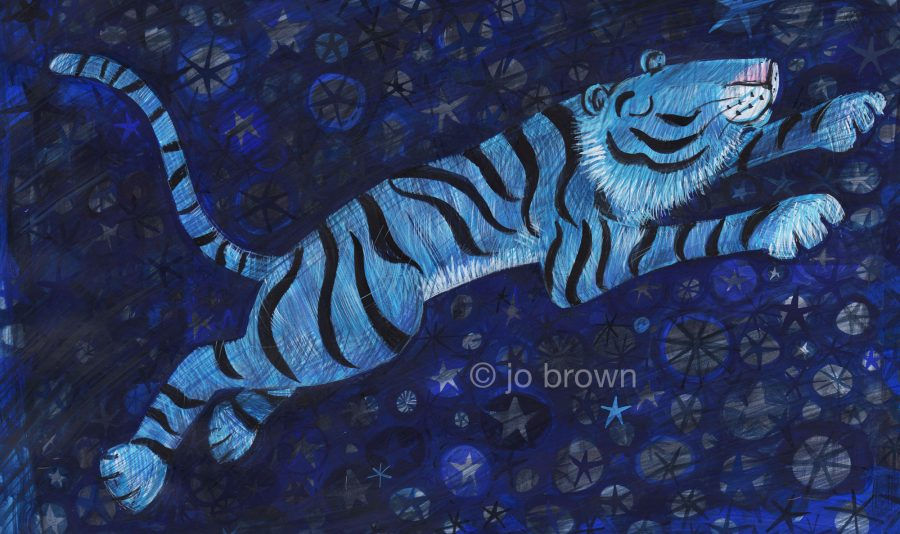 Blue Tiger Dreaming