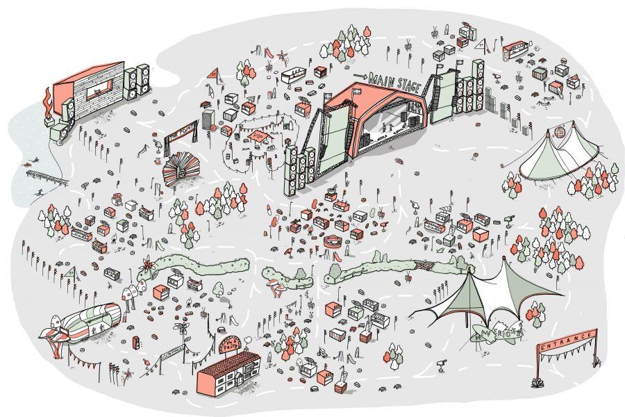 Boardmasters Festival Map