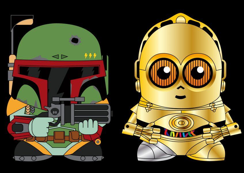 Boba Fett & C3PO