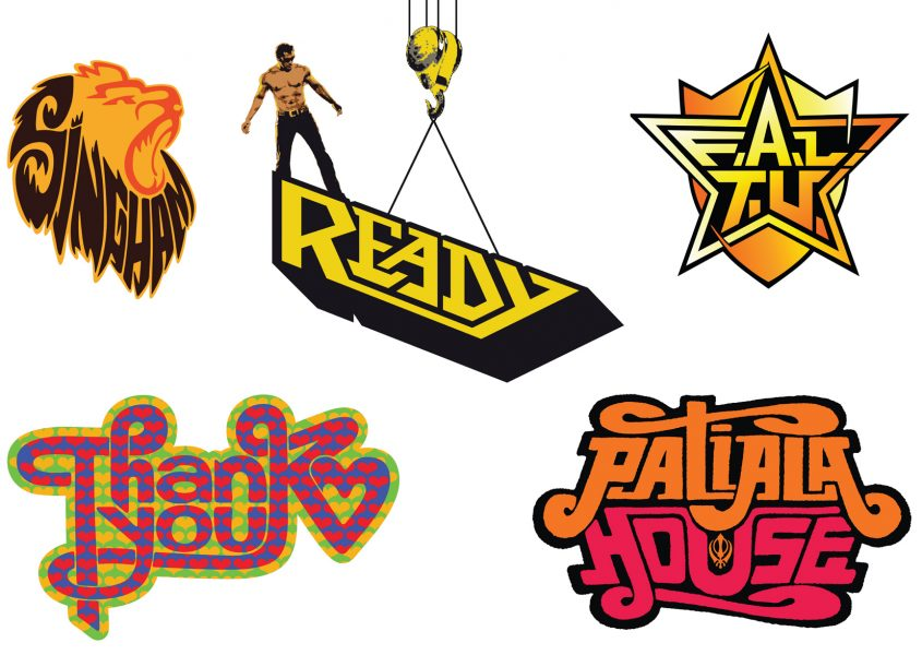 Bollywood Logo Sheet 1