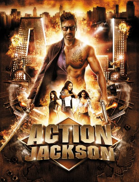 Bollywood movie poster - Action Jackosn