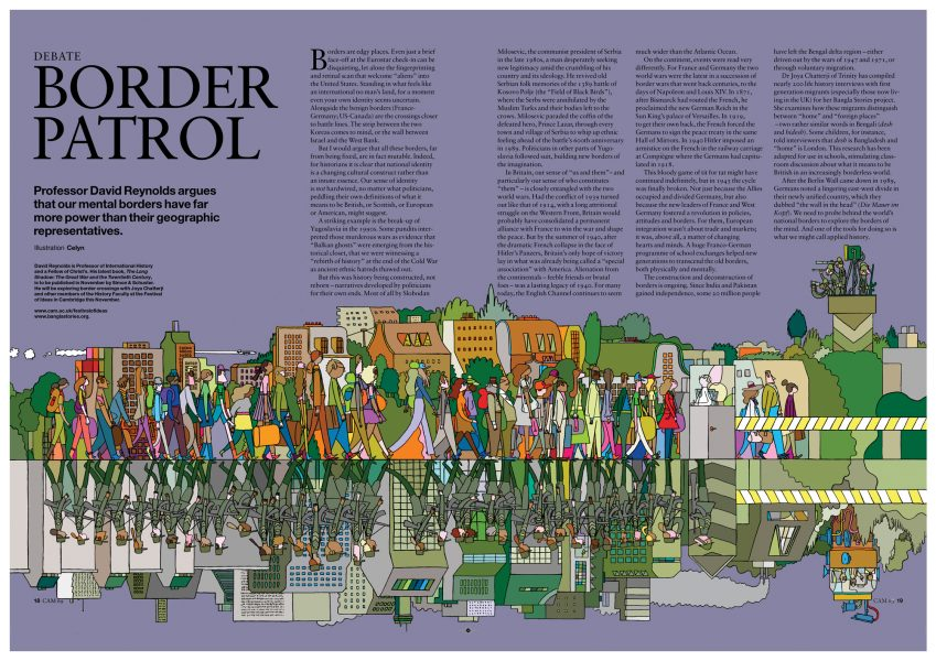 Borders of the Mind