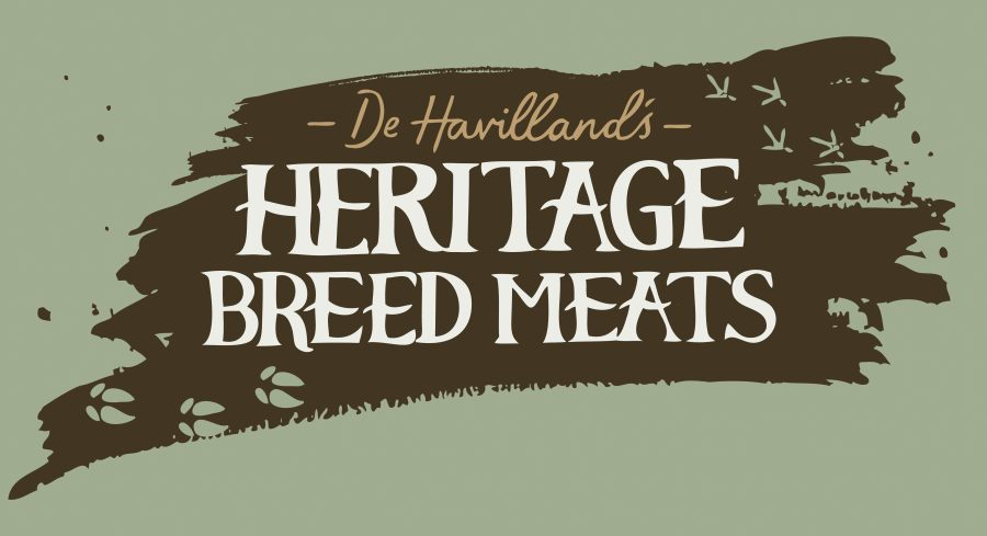 Branding/Graphic Identity for DeHavilland's Heritage Breed Meats