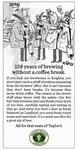 Brewery coffee break