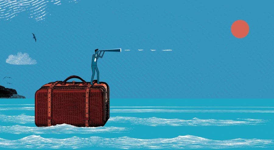 Briefcase Sailing