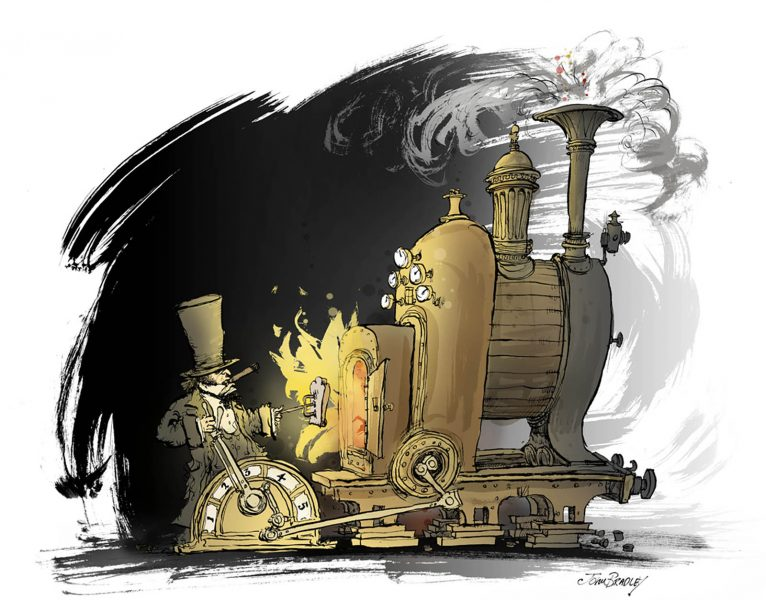 Brunel's toaster