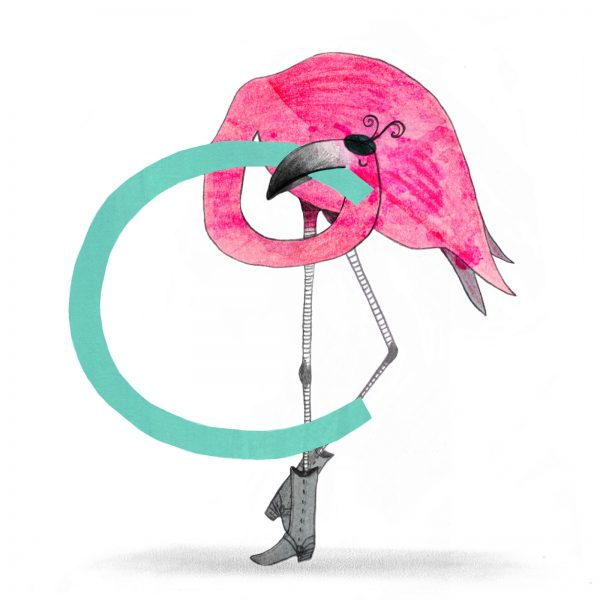 C Flamingo - for Pencil Play header