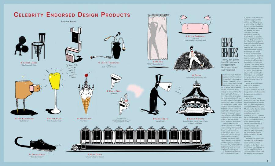 Celebrity Endorsed Designs