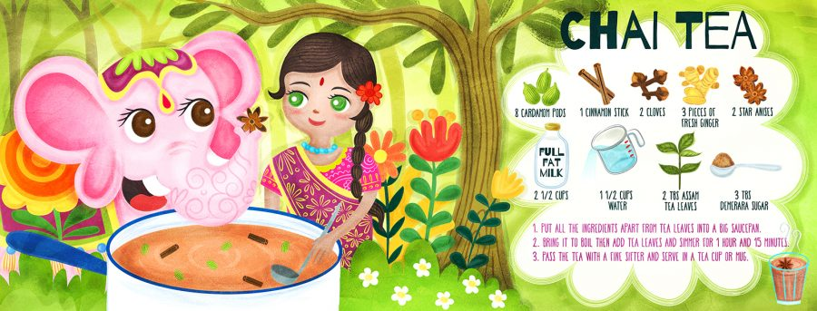 Chai Tea recipe illustration